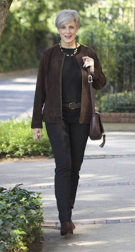 Casual Winter Outfits for Women Over 50
