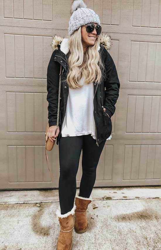 Cute Winter Outfits with Uggs