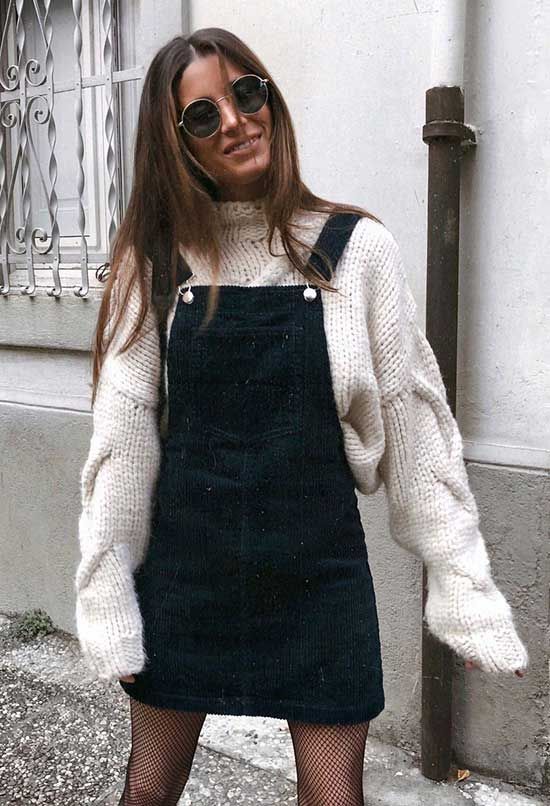 Overall Winter Outfits