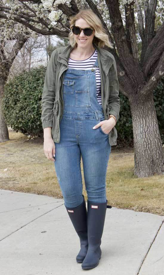 Jean Overall Outfits