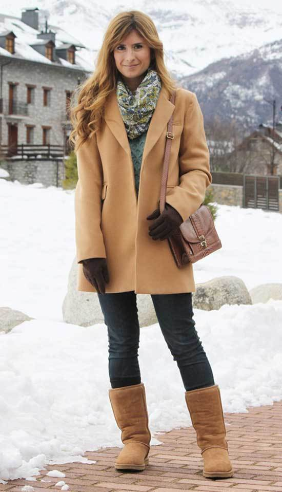 Stylish Cute Winter Outfits with Uggs
