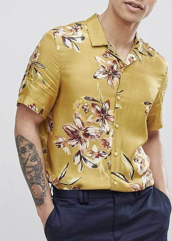 Men Summer Shirt Outfits