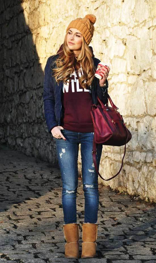 Ugg Boots Outfit Ideas