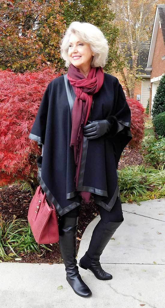 Winter Fashion for Older Women