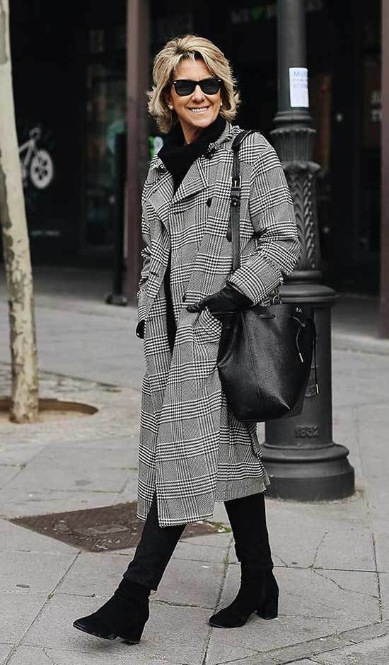 Winter Outfits for Women Over 50