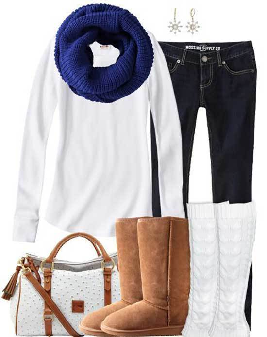 Winter Outfits with Uggs