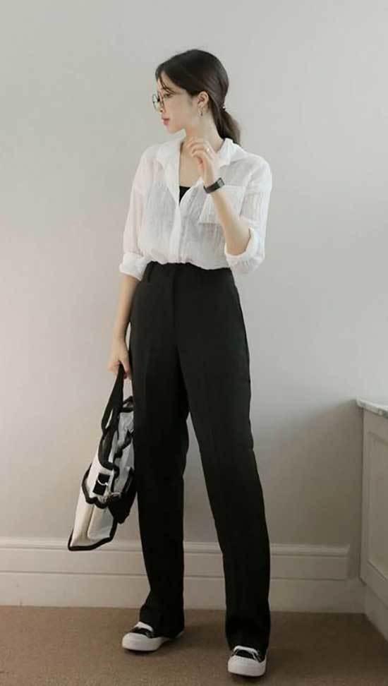 Casual Korean Outfit Ideas