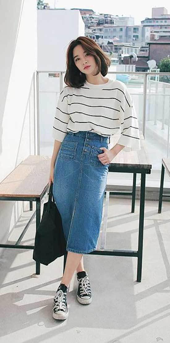 Korean Spring Outfit Ideas