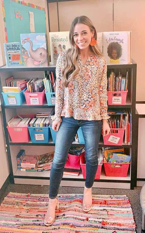 Chic Spring Teacher Outfits