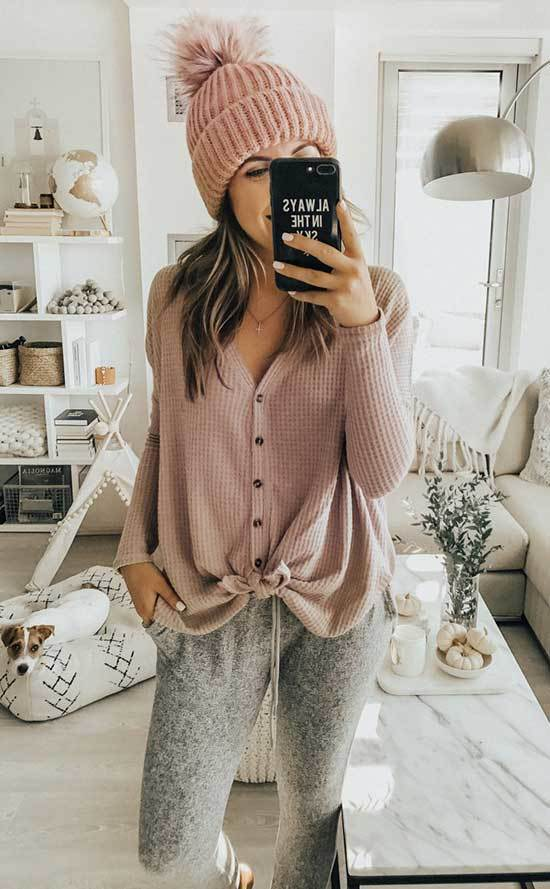 Gray Lazy Day Outfits