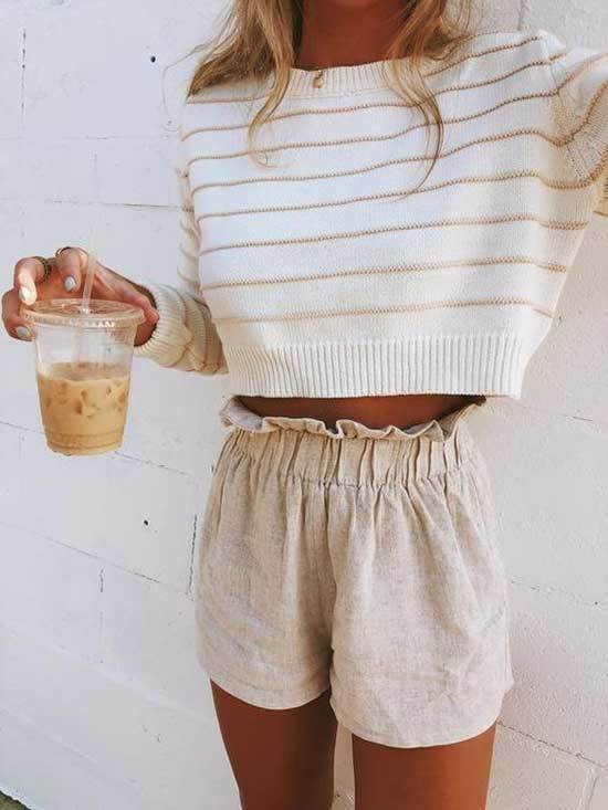 Lazy Day Shorts Outfits