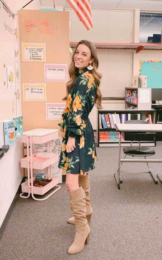 Spring Teacher Outfits