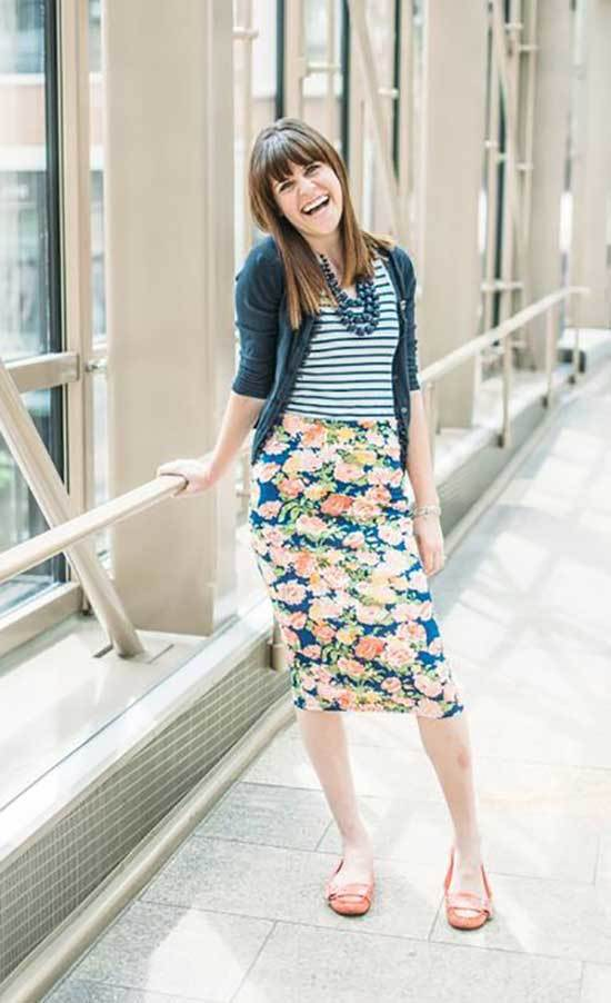 Stylish Spring Teacher Outfits