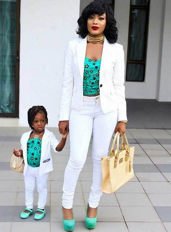 Adorable Mini Me Matching Outfits