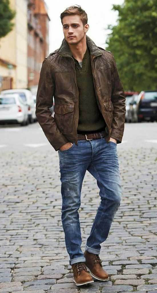 Autumn Men Street Style Outfits