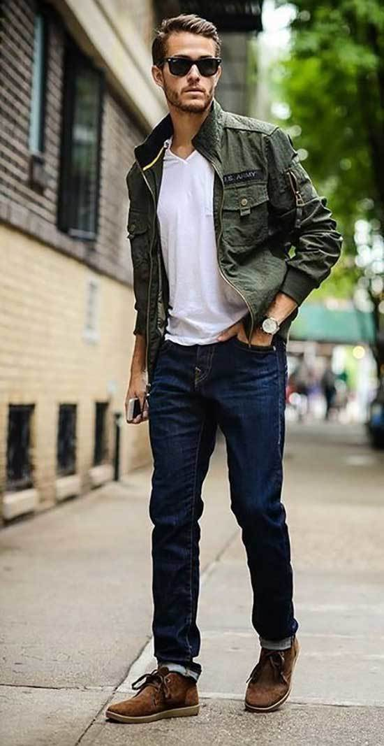 Casual Men Street Style Outfits
