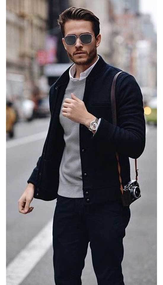 Men Street Style Classic Outfits