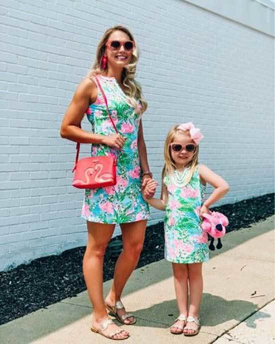 Mini Me Matching Dress Outfits