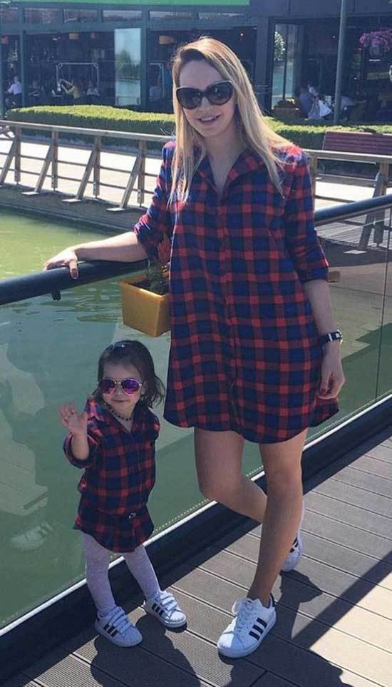 Mini Me Matching Shirt Outfits