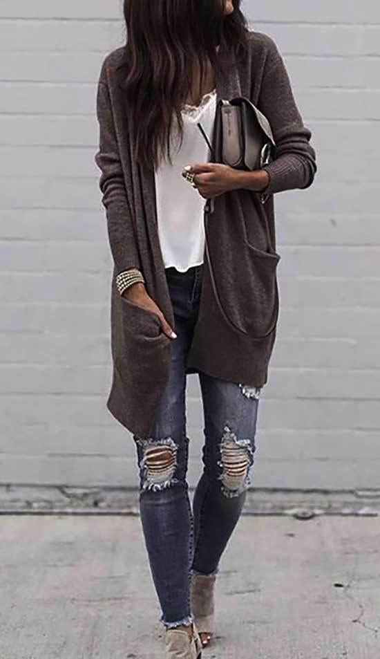 Easy Cardigan Outfits for Women