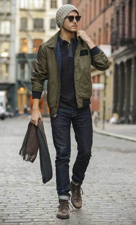 Men Street Style Fall Outfits