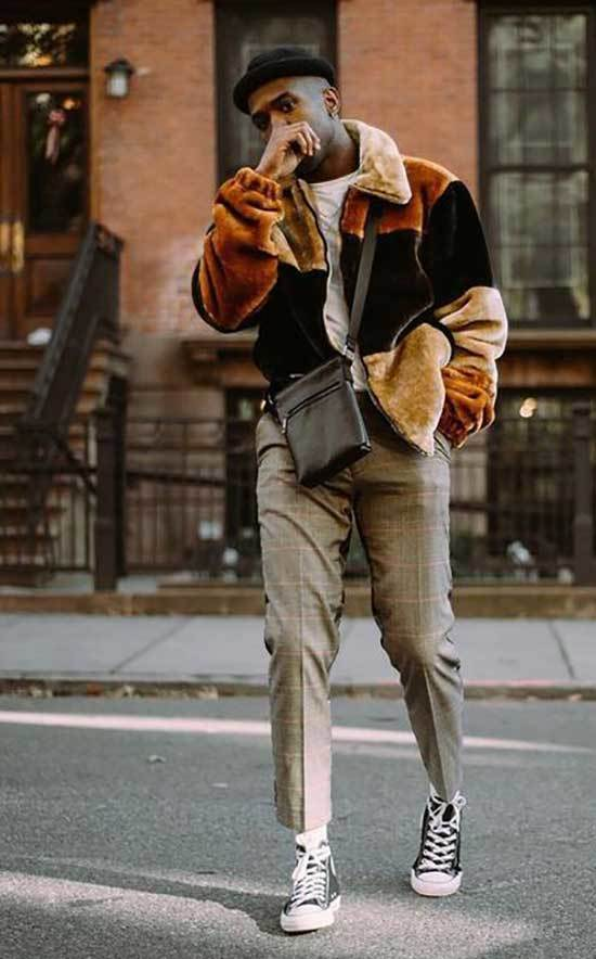 Men Street Style Grunge Outfits