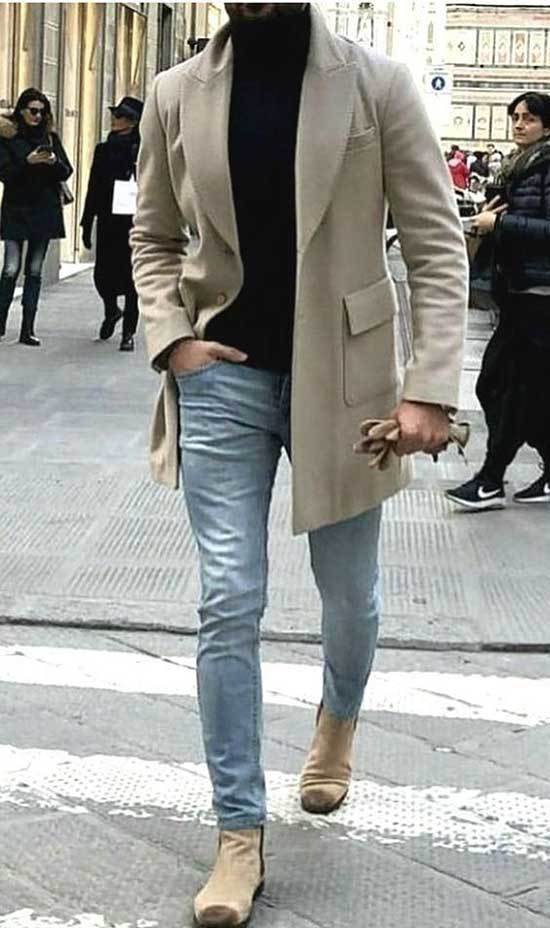 Men Street Style Jean Outfits