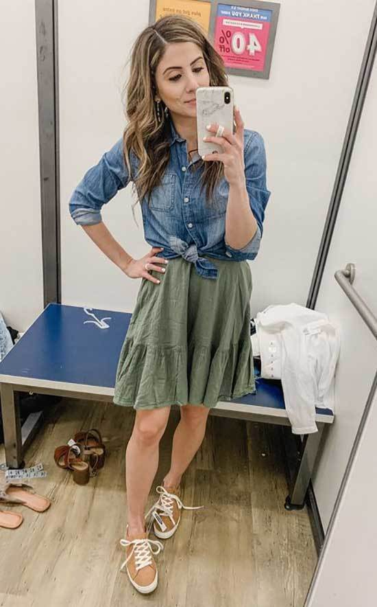 Summer Teacher Jean Outfit Ideas