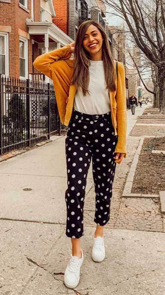 Summer Teacher Polka Dot Outfit Ideas