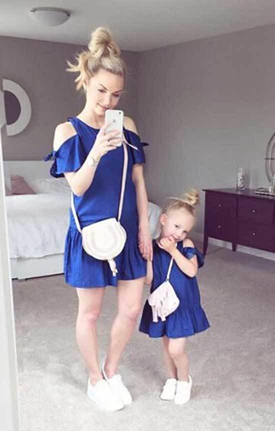 Twinning Mini Me Matching Outfits