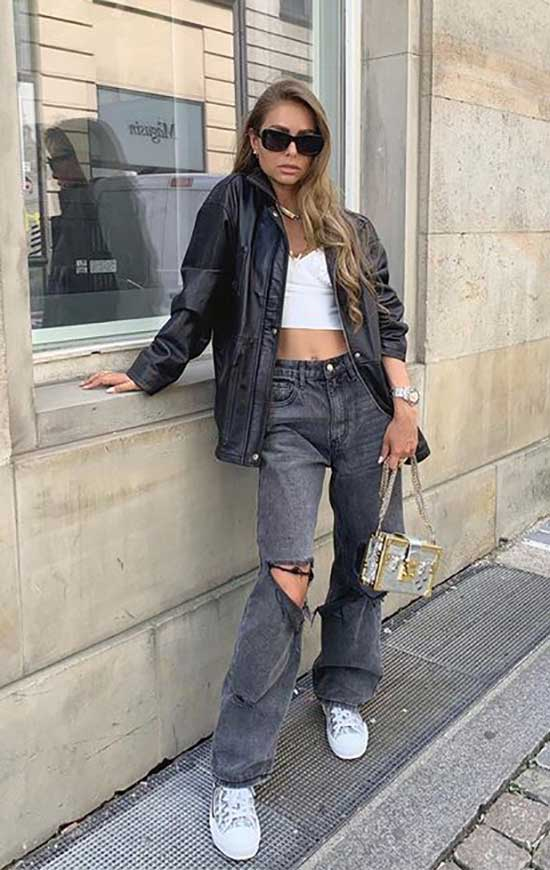 Aesthetic Jeans Outfit Ideas