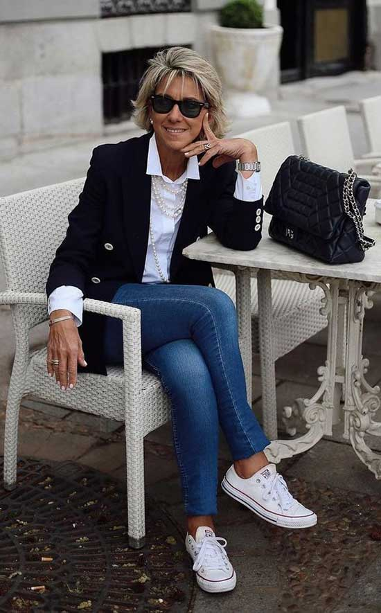 Spring Business Outfits for Women Over 50