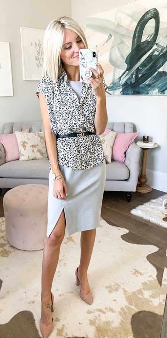Chic Professional Summer Work Outfits
