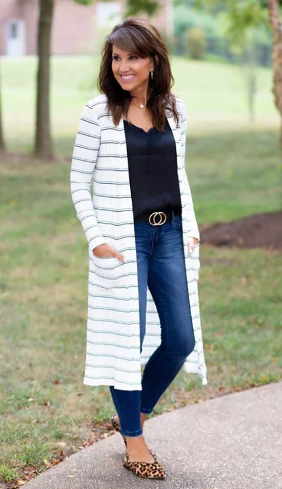 Comfy Spring Outfits for Women Over 50