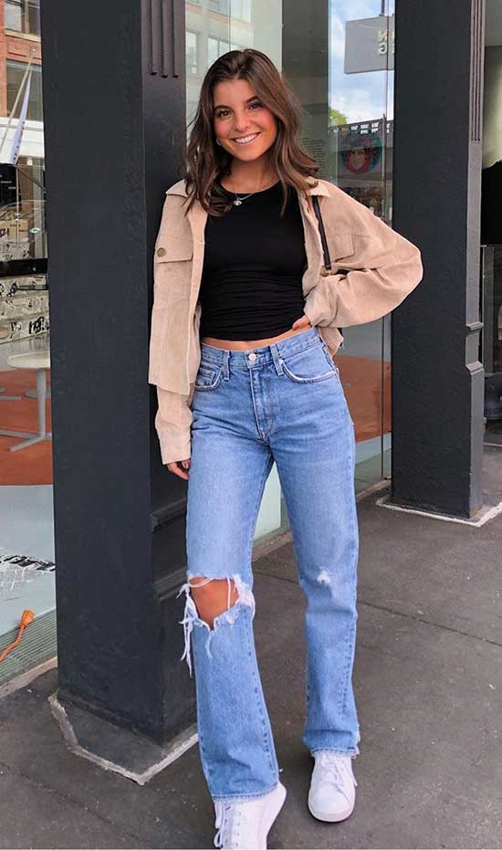 Denim Outfit Ideas for Ladies