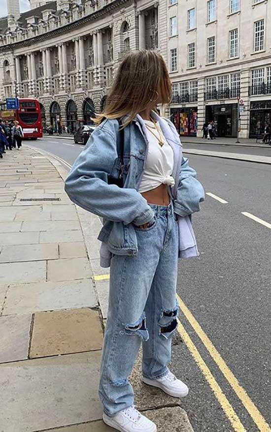 Jeans Street Style Outfit Ideas