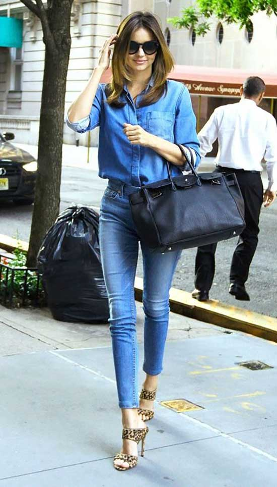 Distressed Jeans Outfit Ideas