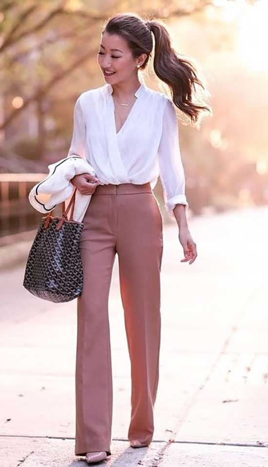 Fashionable Professional Summer Work Outfits