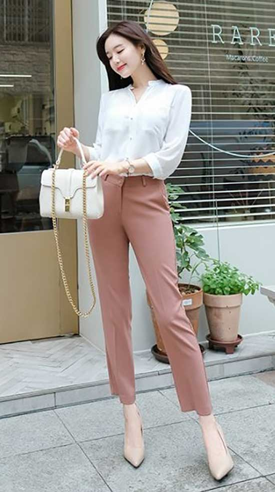 Korean Professional Summer Work Outfits