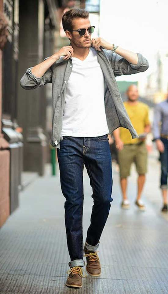 Mens Casual Denim Outfit Ideas