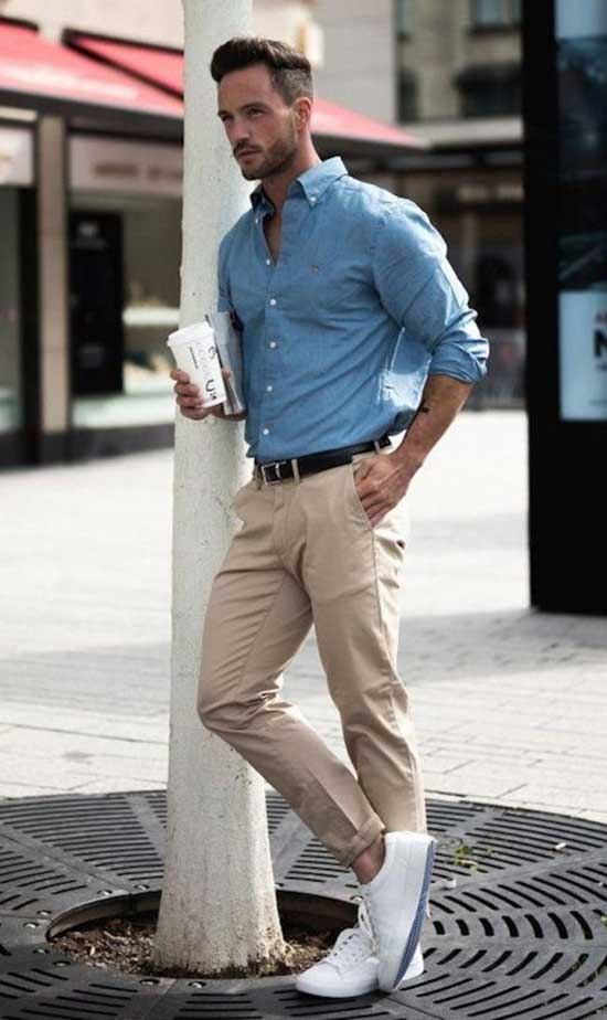 Mens Casual Pants Outfit Ideas