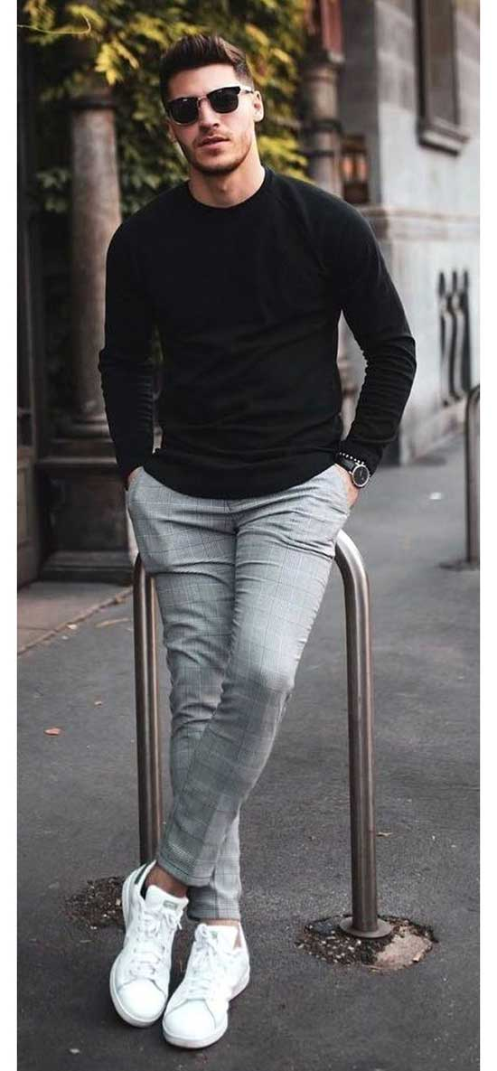 Mens Casual Sneakers Outfit Ideas