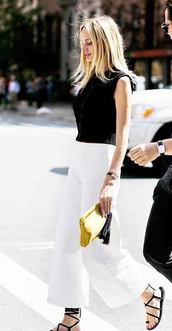 Professional Summer Work Black and White Outfits