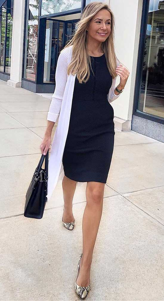 Professional Summer Work Long Dress Outfits