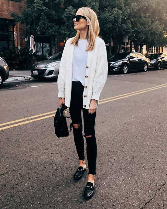 Daily Look Ripped Jeans Outfits-13