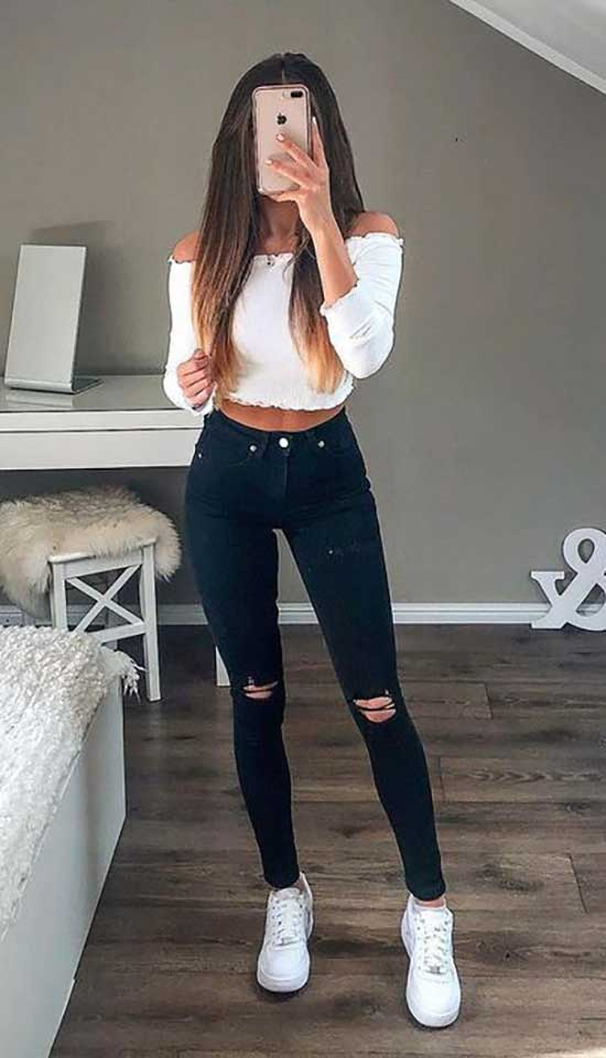 Simple Outfits for Ladies-27
