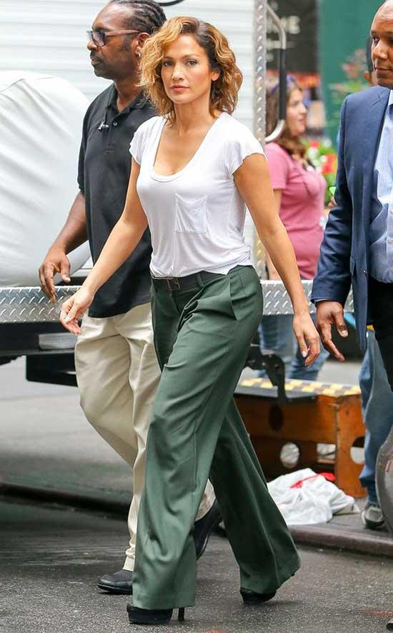 Jeniffer Lopez Flare Pants Outfits-33