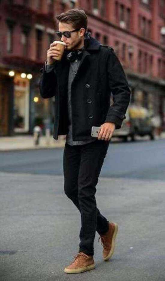 Black Pants Mens Outfit