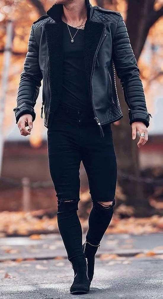 Black Pants Outfits Mens 2020