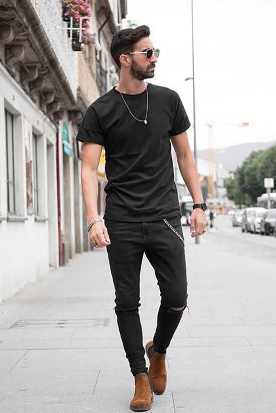 Classy Black Pants Outfits Mens